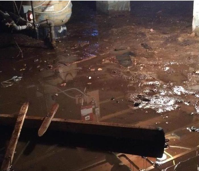 Storm Floods Crawlspace in Durango, CO Area Home Before