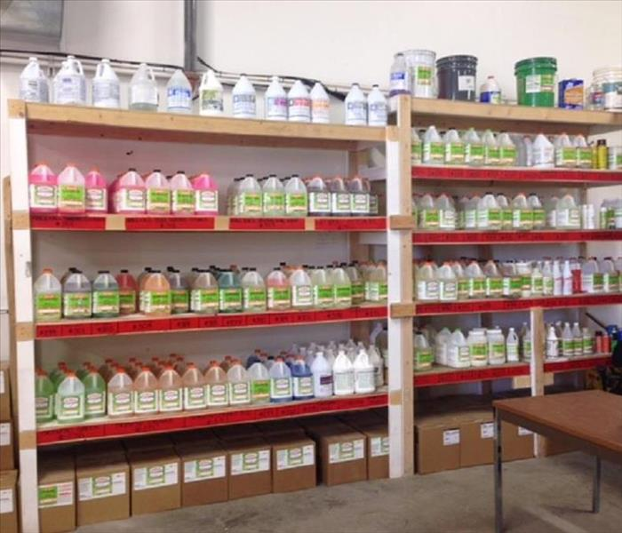 SERVPRO's line of specialty products
